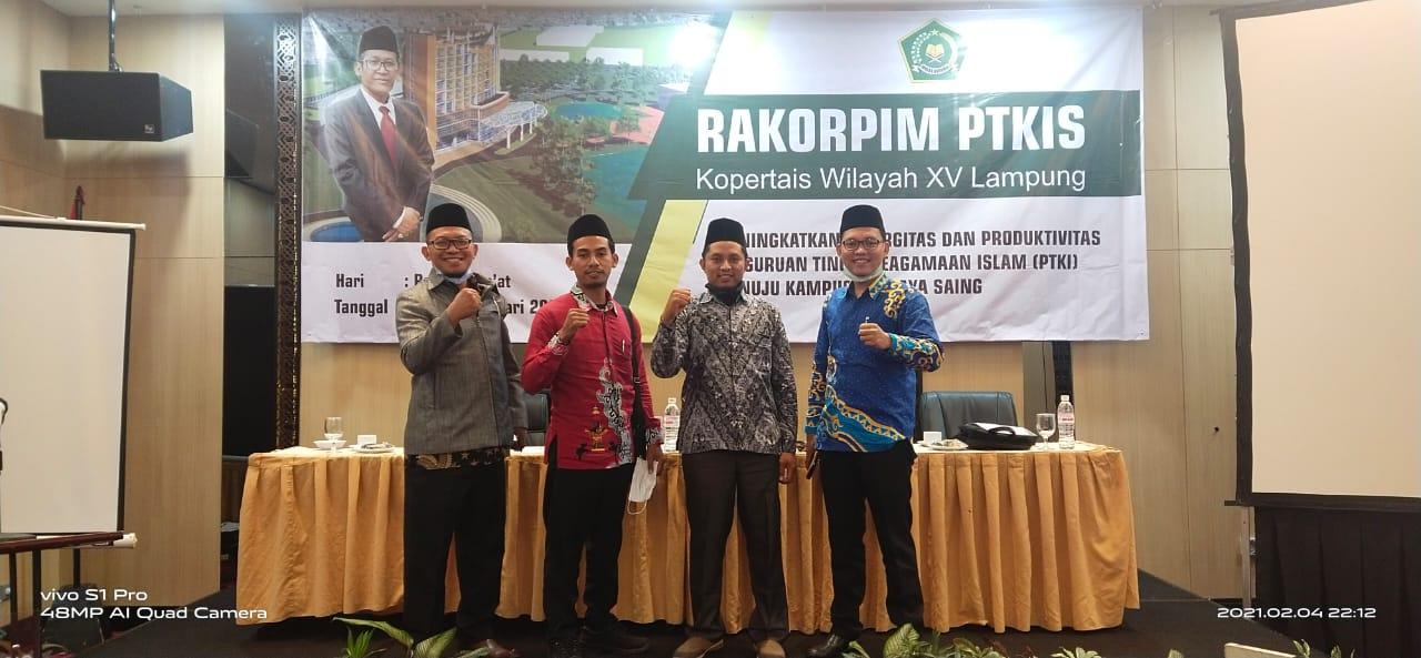 RAKORPIM PTKIS Kopertais XV Wil. Lampung