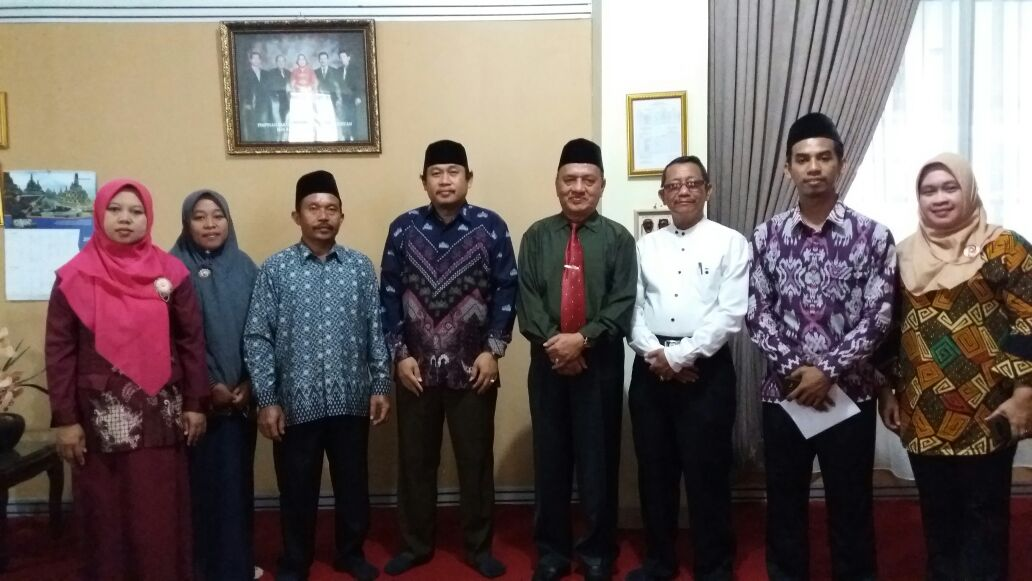 Kunjungan Ketua STIT Almubarok dan Kaprodi ke Fakultas Tarbiyah dan Keguruan UIN Raden Intan Lampung